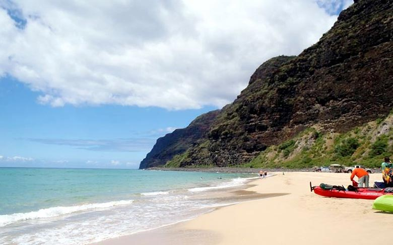 Polihale State Stop, Kauai