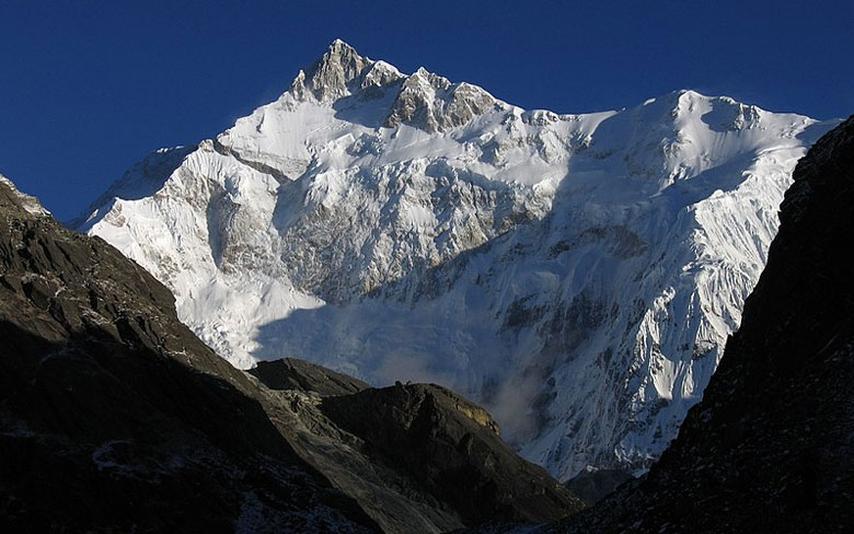 Kangchenjunga, India-Nepal border