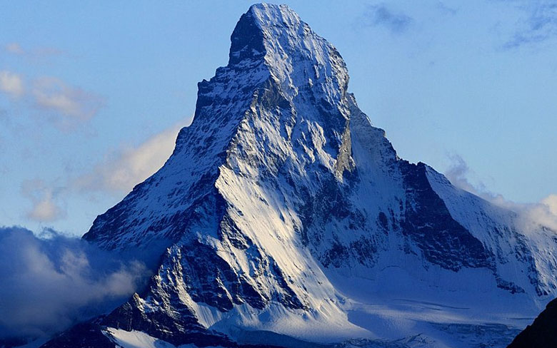 Matterhorn, Switzerland-Italy border