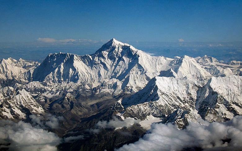 Mt. Everest, Nepal-China border