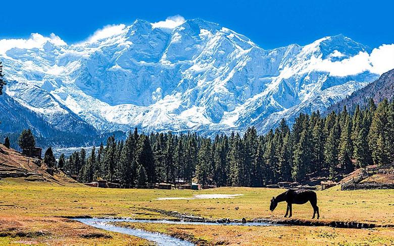 Nanga-Parbat in Gilgit-Baltistan, Pakistan