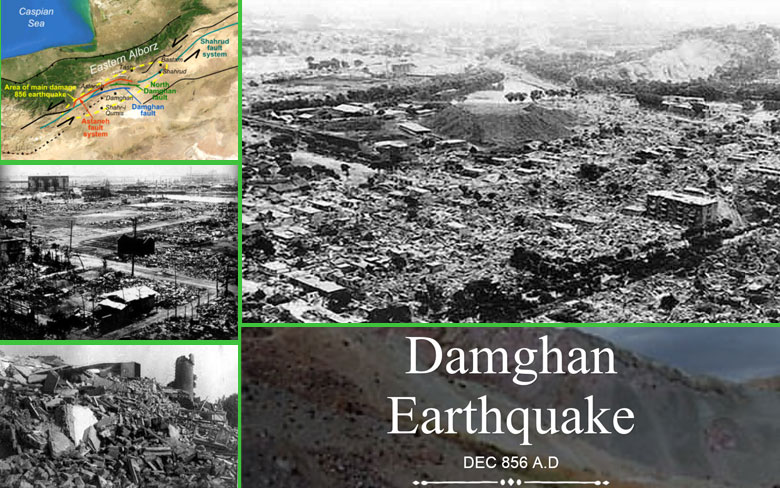 Damghan, Iran Earthquake