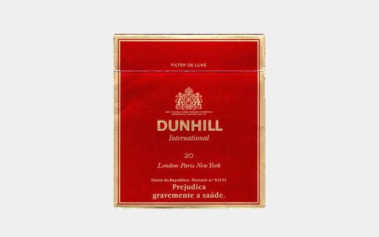 Dunhill Cigarette Brand