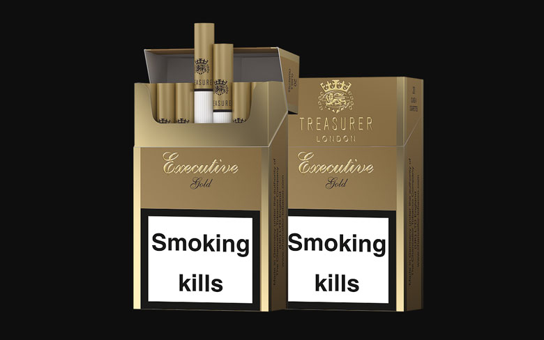 treasurer london cigarette brand