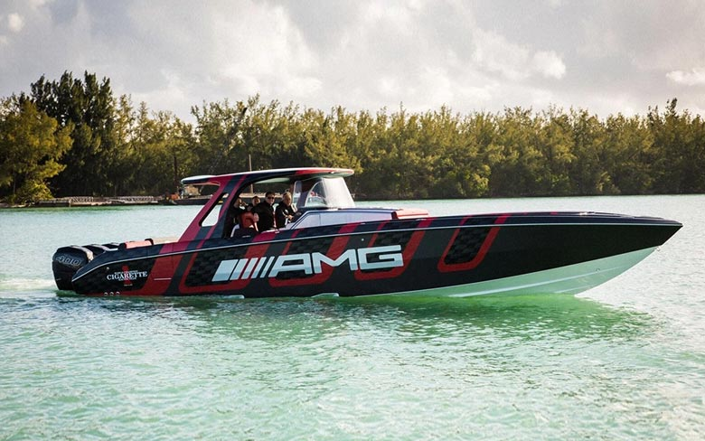 Cigarette Boat Racing