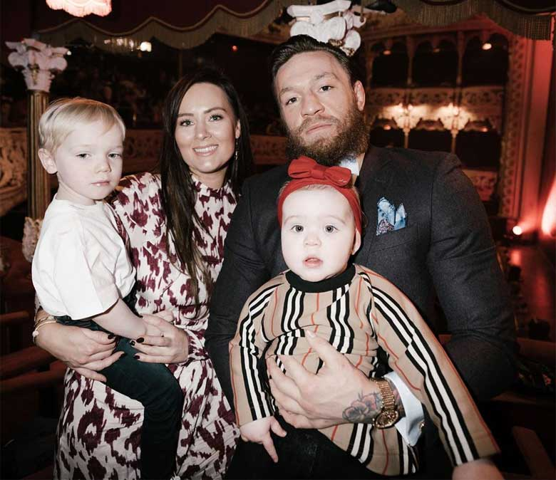 Conor McGregor Childrens