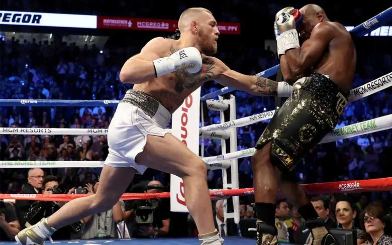 Conor McGregor vs Floyd Mayweather Jr.