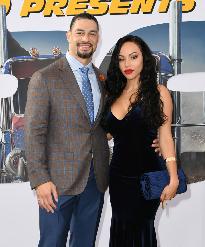 Roman Reigns married the fitness model Galina Becker