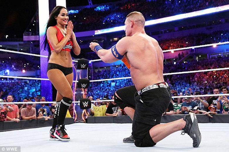 John Cena proposed Nikki Bella in 2017