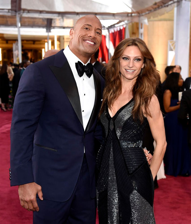 Dwayne Johnson Wife Lauren Hashian