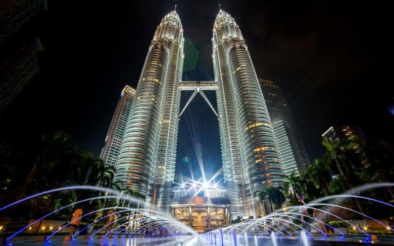 Petronas Tower 1 and Tower 2