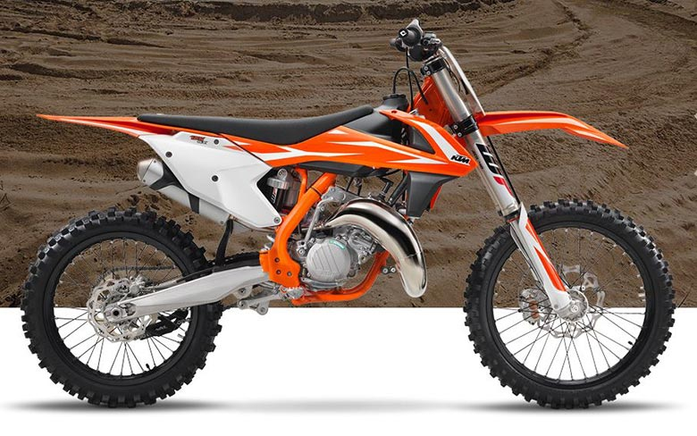 KTM 125 SX Dirt Bike